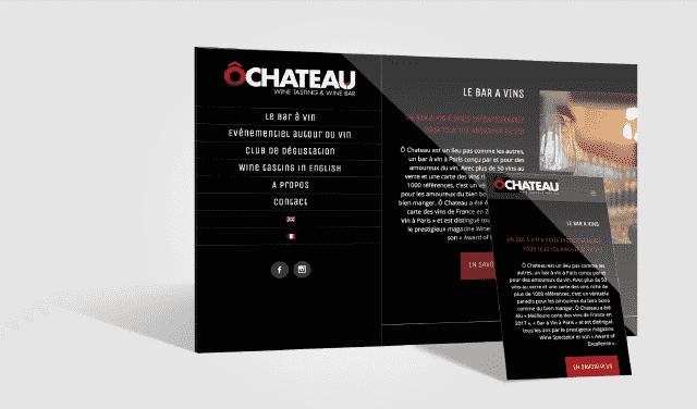USTS - Références Site internet - Ô Chateau