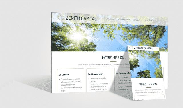USTS - Références Site internet - Zenith Capital
