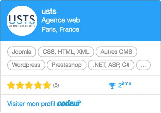 USTS - 2eme sur Codeur.com